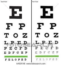 Eye Charts Clipart K4424145 Fotosearch