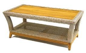 white wicker side table unique round