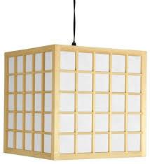 12 5 japanese window pane hanging lantern
