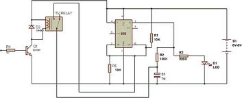 toggle switch using 555 build circuit 555 toggle relay the toggle switch circuit