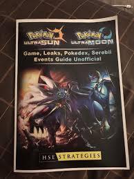 Pokémon Ultra Sun and Ultra Moon Guidebook in CV31 Warwick für £ 4,20 zum  Verkauf
