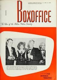 Macha Theatre Seating Chart Boxoffice April 22 1968