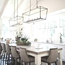 dining table chandelier height we dining