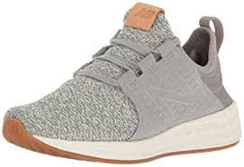 new balance cruz. new balance women\u0027s fresh foam cruz v1 running shoe, grey/sea salt, 10 e
