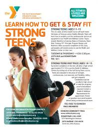 Teen health and wellness programs