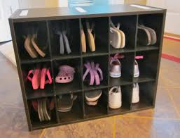 4 tier shoe rack wooden
