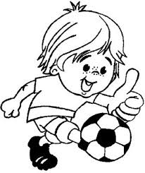 Small Picture transmissionpress Boy Kicking a Soccer Ball Kids Coloring Pages