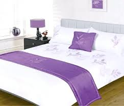 lilac duvet cover leaves white lilac purple 5 piece embellished bed in a bag double duvet lilac duvet cover