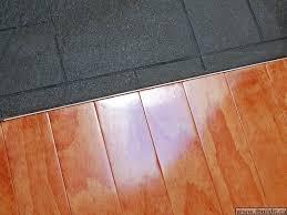 tile floor transition strips water under laminate flooring
