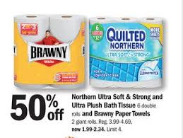 MEIJER COUPON DEAL: Quilted Northern Toilet Tissue ONLY $0.15/roll ... & Meijer Coupon Adamdwight.com