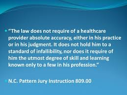 Nc Pattern Jury Instructions Fascinating A VIEW FROM THE LITIGATION TRENCHES New England Journal Of Medicine
