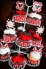 Baby Mickey Mouse Edible Cake Decorations Mickey Minnie Mouse Birthday Party Mickey Mouse Party