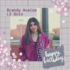 Wishing a happy birthday to our neo/new sister Brandy Avalos ...
