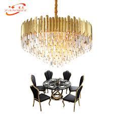 <b>Modern Chandelier Crystal</b> Lighting Hotel LED <b>Chandelier</b> Lustre de ...