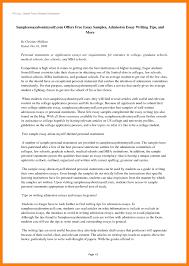 9 Personal Statement Sample Essay - Tripevent.co