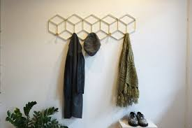 Handmade Coat Rack Handmade grilles coat rack matte black for entry way use 24