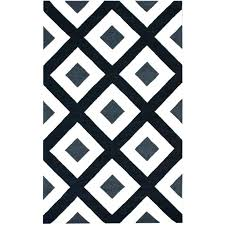 black and white rug wayfair rug rugs diamonds black white area rug for also and vibe border citrus western cabin rug black and white rug wayfair