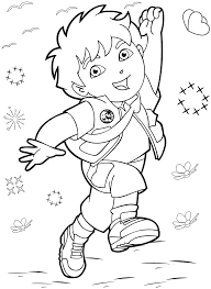 Small Picture Explorer Coloring Pages FunyColoring