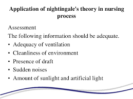florence nightingale theory florence nightingales environment theory