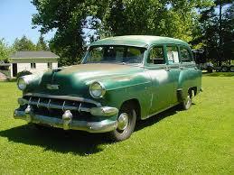 1954 CHEVROLET 53 CHEVY 54 STATION WAGON MODEL 150 4 DOOR ...