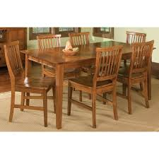 Home Styles Arts Crafts 7 Piece Dining Set Cottage Oak Hayneedle Arts And Craft Dining Table