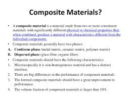 Ppt On Composite Materials Ppt On Composite Materials Koziy Thelinebreaker Co