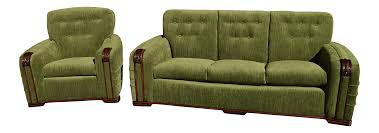 looklacquered furniture inspriation picklee. Art Deco Modern Furniture. Vintage Green Velvet Sofa \\u0026 Chair - Looklacquered Furniture Inspriation Picklee