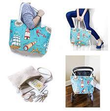 summer beach bags. Modren Bags JJMG NEW Summer Beach Bag Stroller Friendly Womenu0027s Large Capacity Momu0027s  Tote Shoulder With Intended Bags S