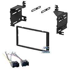amazon com asc audio car stereo radio install dash kit and wire asc audio car stereo radio install dash kit and wire harness for installing an aftermarket double