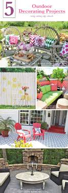 Small Picture 5 Outdoor Decorating Projects Using Stencils Stencil Stories