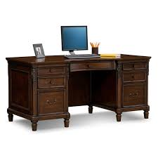 Home office furniture cherry Buena Vista Home Office Furniture Ashland Executive Desk Cherry Furniture From Home Ashland Executive Desk Cherry Value City Furniture And Mattresses