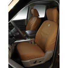 covercraft front seat cover seatsaver carhartt for 40 20 40 split bench seat f