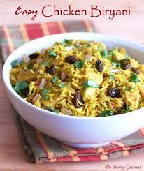 Easy Indian Chicken Biryani The Daring Gourmet