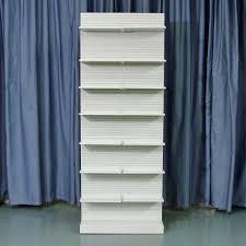 used uniweb single side pharmacy shelves 32 inch