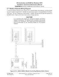 7 modbus network wiring diagram e8 controller and bcm for modulex 7 modbus network wiring diagram e8 controller and bcm for modulex ext installation operation maintenance manual aerco modulex e8 controller and bcm