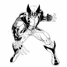 Xavier, magneto, gambit, and other heroes. Marvel Superhero Wolverine X Men Coloring Page Printable