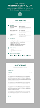 Fresher Resume Template Free Psd Download Resummme Com