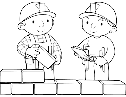 Small Picture Printable Bob the Builder Coloring Pages Coloring Me