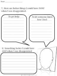 CBT Children s Emotion Worksheet Series 7 Worksheets for Dealing ...