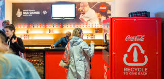 Reverse Vending Machine Recycling Beauteous Recycle And Give Coke Piloting Kiosks That Reward Recycling With