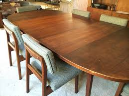 walnut dining table and 6 chairs zagons co extendable