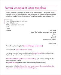 Letter To Airline Formal Complaint Letter Co Template To Airline Lccorp Co