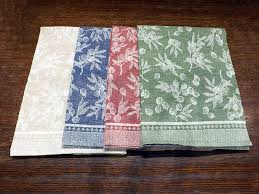 olive loom woven kitchen towel