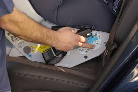 you ll find the isofix straps either side of the seat