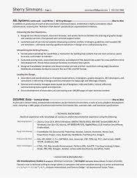 Technical Writer Resume Samples Resume Examples For First Job Examples 23 New Writer Resume Download