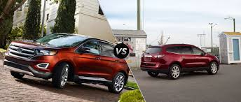 All Chevy chevy 2015 suv : 2015 Ford Edge vs 2015 Chevy Traverse