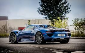 porsche 918 spyder black wallpaper. porsche 918 spyder blue black wallpaper e