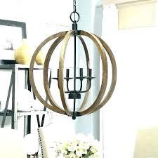wood orb lighting white chandelier round elegant home improvement ideas beam diy w round wood chandelier
