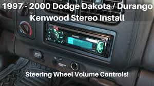 1997 2000 dodge dakota durango stereo 2000 Dodge Ram Radio Wiring Diagram 2000 Dodge Ram 1500 Radio Wiring