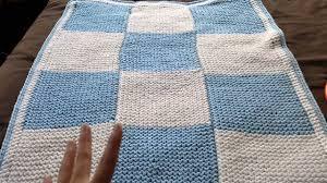 Loom Knitting Patterns Blanket Simple Design